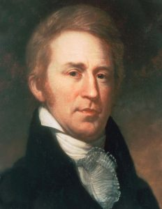William Clark, as painted by Peale