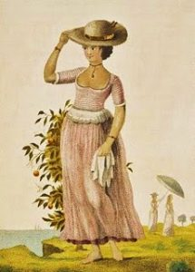 A free woman of color, 19th century New Orleans